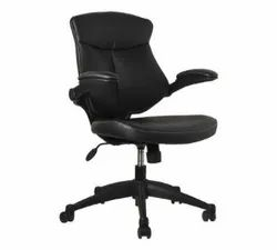 Leather Black Adjustable Executive Office Chair
