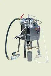Gas & Electric Dual Semi-Autometic Steam Generator