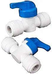PVC 1-4 Inch Manual Flush