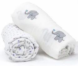 Organic Soft Baby Printed Blanket