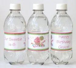 CMYK PET Bottle Paper Label / Beverage Labels, Packaging Type: Roll