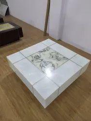 White Marble Center Table