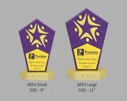 Purple Finish Wooden Trophy
