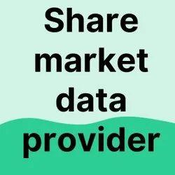 Share Market Data Provider In All India