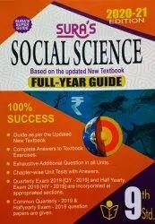 English Sura Social 9th Std Guide, 2021-22