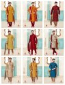 Festive Wear Exclusive Kurta With Dhoti Style Mens Wear Catalog Collection