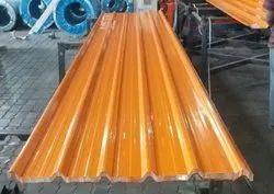 Orange Stainless Steel Profile Sheet