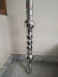 SS Double Ball Matka Pillar