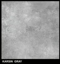 Matt Square Karsin Gray Ceramic Floor Tile, Size: 600*600 mm (L*W), Thickness: 8 mm