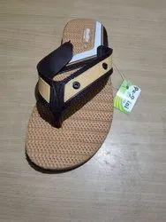 Brown Daily Wear Gents Hawaii Slipper