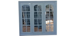 Acero Productions Powder Coated OAC GI Steel Window, For Home