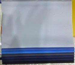 Plain/Solids Cotton Trouser Fabric, Black