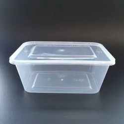 Rectangular Disposable Plastic Container
