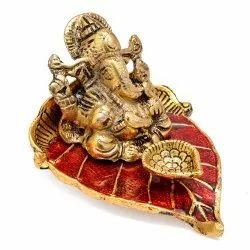 Ganesh Diya Pan Patta For Pooja