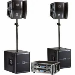 Shure Jbl Sound System On Hire