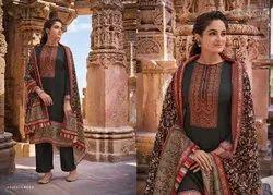 Kashni By Mumtaz Arts Jam Satin Karachi Suits Summer Wear Collection