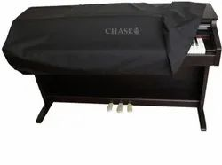 Black Nylon Chase Digital Piano Dust Cover, Size: 1360mm X 346mm X 154mm