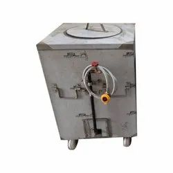 Square Stainless Steel gas Tandoor