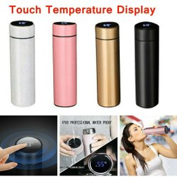 Smart LED Active Temperature Display Bottle