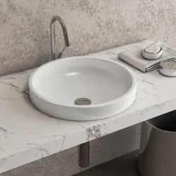 Eros Ceramic Designer Countertop Wash Basin