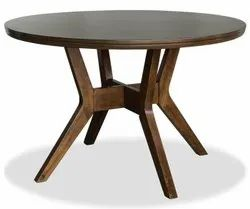 Brown Wooden Round Table, For Home