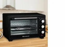 Stainless Steel Black Oven Toaster Griller (otg) 19 Liters Wonderchef