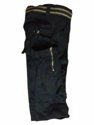 Knee Length Black Ladies Short Capri