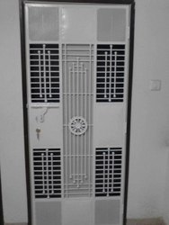 Mild Steel Safety Door, For Home, Size: 6 X 4 Feet
