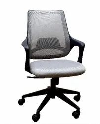 Executive Medium Back Chair - Mono Black