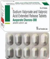 Sodium Valproate IP 200mg + Valproic Acid IP 87mg, 10X10