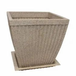Paris Square Pot With Tray