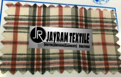 Solapur School Uniform Checks Fabric