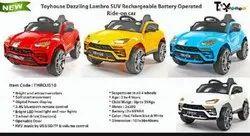 Kids Toyhouse Lamborghini Suv Battery Operated Ride-On Car for Kids