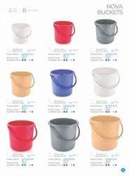 Plastic Unbreakable Buckets