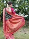 Present Kanjivaram Slk Saree With Rich Pallu Saree