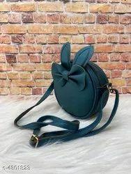 Pu Leather Shoulder Women Sling Bag For Casual Wear