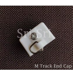 25 mm Plastic ABS Curtain Track - End Cap