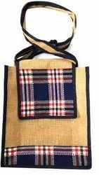 Long Shoulder Length Fancy Jute Bags, Capacity: 2 Kg