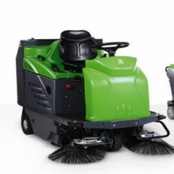 Dual Version Ride-On Sweeper