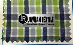 Green Chex Tamil Nadu School Uniform Fabric