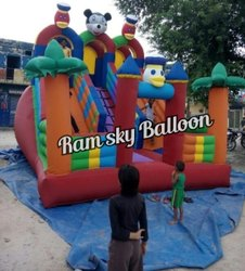 Nylon Big Bouncy Slide