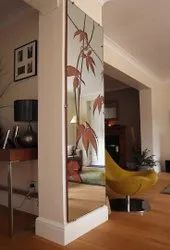 Multicolor Decorative Wall Glass, Thickness: 8mm
