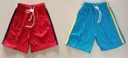 3 Yrs To 9 Years Cotton Boys Plain Shorts
