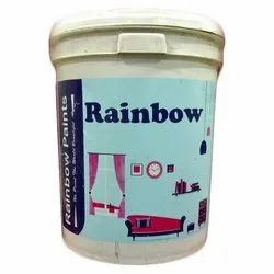 High Gloss White Rainbow Paints Emulsion Paints, For Exterior
