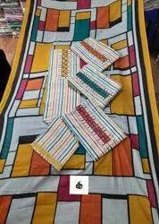 Blocked Print Ladies Salwar Suits