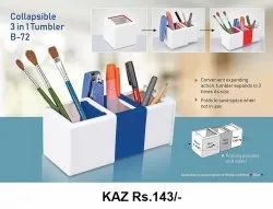 Collapsible 3 in 1 Tumbler B-72