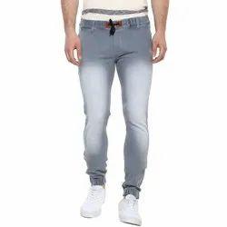 Casual Wear Regular Fit Men Faded Denim Jeans, Waist Size: 30