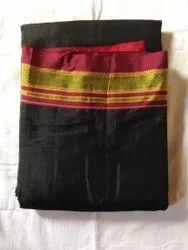 6.3 M (with Blouse Piece) Plain Ilkal Handloom Saree