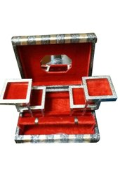 Nakalang Handicraft Rectangle Wooden Antique Jewellery Box, For Home, Size/Dimension: 8x12 Inch