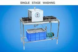 Glass Bottle Single Stage Washing Machine